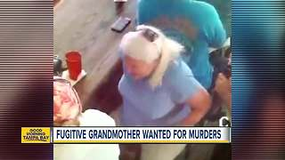 Nationwide manhunt underway for Grandmother accused of killing husband and Florida woman