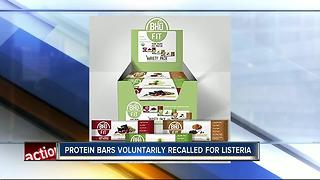 Bhu Foods Voluntarily Recalls Protein Bars for Possible Health Risk - Video