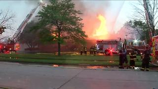 Fire strikes Kenosha Education Association building - Video