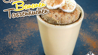 Gesunder bananen Mug Cake - Video