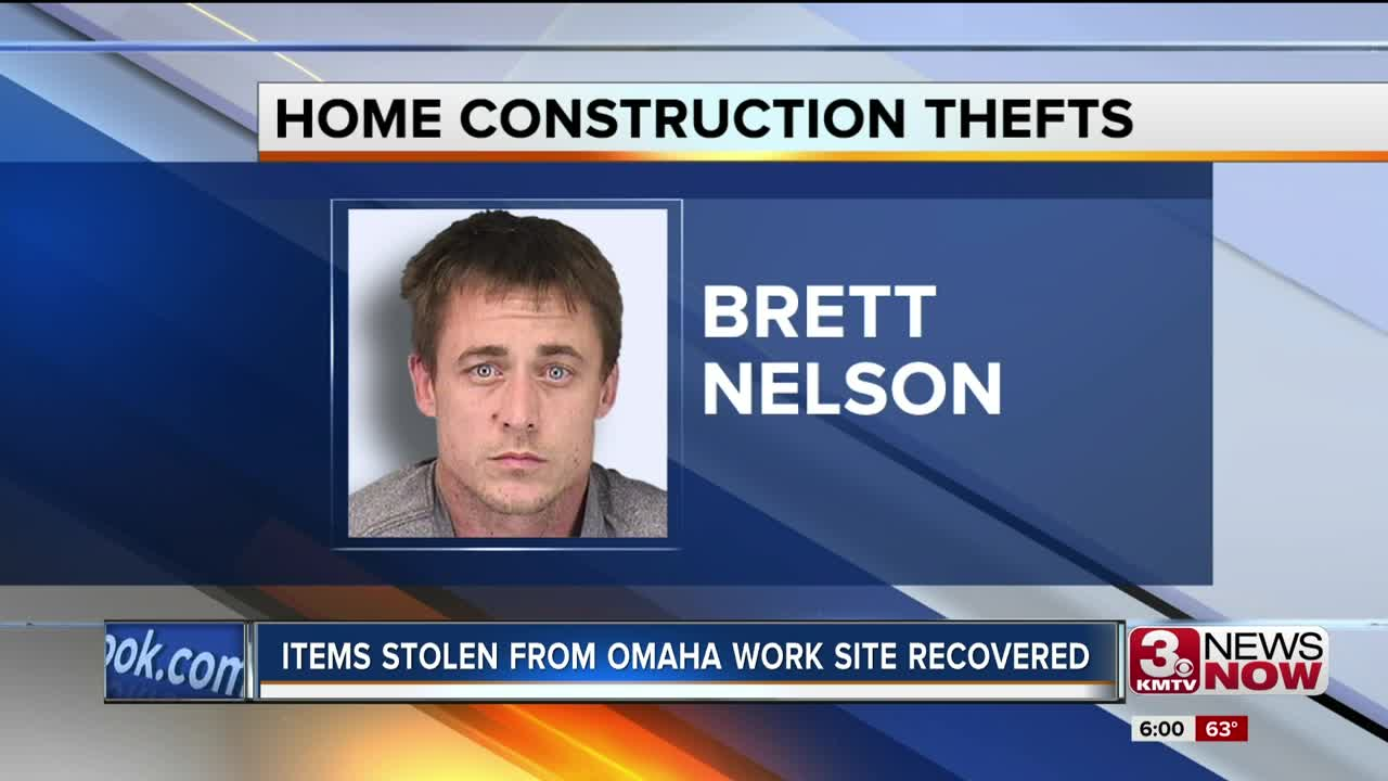Items stolen from Omaha work site recovered