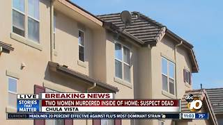 Two women shot in home, suspect dead - Video
