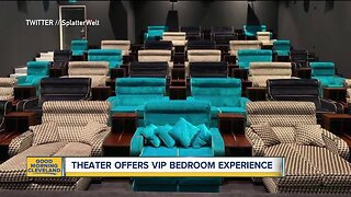 Theater offers vip bedroom experience