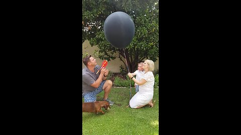 Gender Reveal Balloon Fail