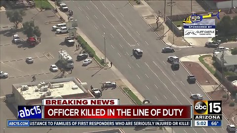 Phoenix officer killed in the line of duty
