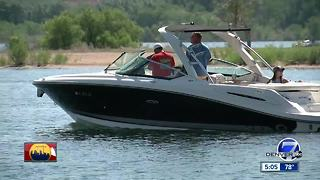 Group goes fishing for plastic at Chatfield Reservoir - Video