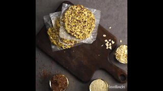 Oatmeal, Linseed and Sesame Biscuits