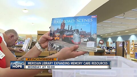 #FINDINGHOPE: Meridian Library offers memory care resources