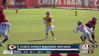 Chiefs prepare for first preseason game - Video