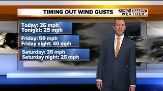 13 First Alert Las Vegas Weather for March 1 Morning - Video