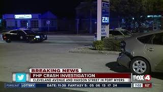 Trooper involved crash overnight in Fort Myers - Video