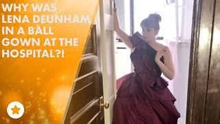 Lena Dunham has health scare on red carpet - Video