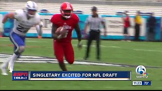 Devin Singletary ready for NFL draft 4/22