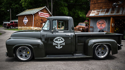 We Modernised A 1950s Ford F100 | RIDICULOUS RIDES