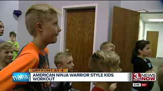 Omaha opens ninja warrior gym for kids hit 2 - Video