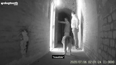 Ghost hunters Tony and Paul couldn't believe it when they saw what the camera had picked up