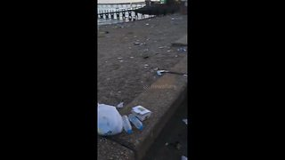 Southend beach looks more like a landfill after busy Bank Holiday - Video