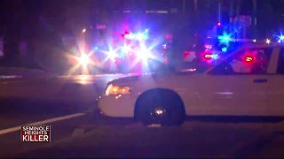 Heavy police presence and perimeter surrounding SE Seminole Heights - Video