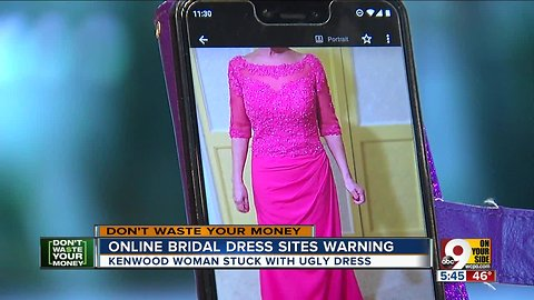 Online bridal shops like Magbridal can be an ugly waste of time