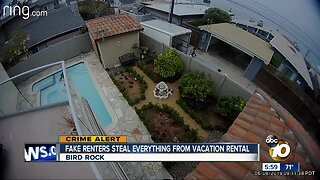 Fake renters reportedly steal everything from vacation home