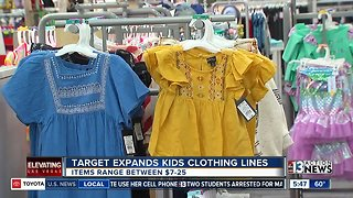 Target expands kids clothing lines