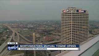 Northwestern Mutual Tower opens in downtown Milwaukee - Video