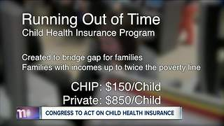 New secured funding extends Children's Health Insurance Program for another 3 months - Video