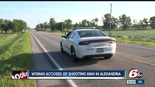 Woman accused of shooting man in Madison County - Video