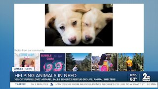 Puppie Love helps animals in need!