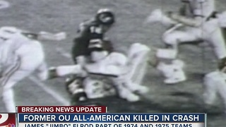 Former OU football player killed in crash - Video