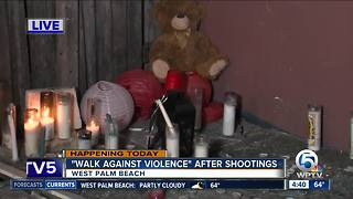 'Walk Against Violence' scheduled Friday in West Palm Beach - Video