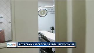 PolitiFact Wisconsin: Is abortion illegal in Wisconsin? - Video