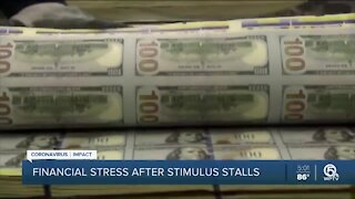 Unemployment stress worsens as stimulus talks stall
