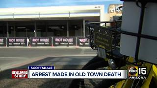 Man arrested after woman found dead in Old Town Scottsdale in February - Video