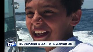 Flu suspected in death of 10-year-old boy - Video