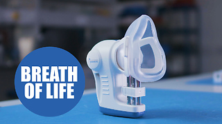 'Cancer breathalyser' inspired by premature death wins Britain's engineering award - Video