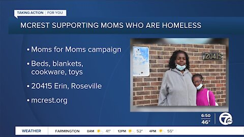 MCrest Supporting Homeless Moms