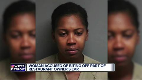 Woman bites off part of man's ear at Macomb County Chinese restaurant