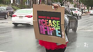 Baltimore Ceasefire celebrates four years of spreading peace and light