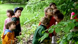 Tinkergarten turns parks into classrooms - Video