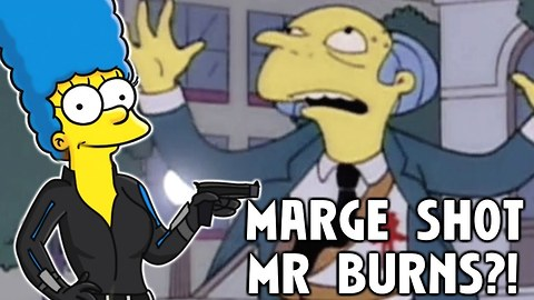 Did Marge Actually Shoot Mr Burns? | Simpsons Theories