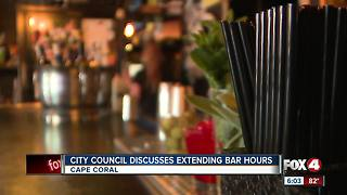 Cape City Council Voting on later Bar Hours - Video