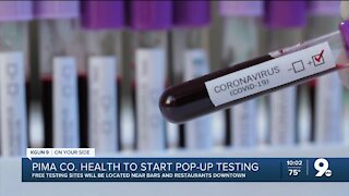 Pima Co. Health to start pop-up testing