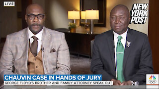 Biden called George Floyd's brother amid Chauvin jury deliberations