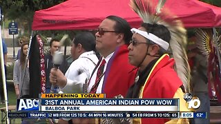 31st annual American Indian Pow Wow returns to Balboa Park