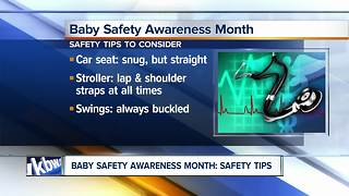 Safety tips to consider during Baby Safety Awareness month - Video