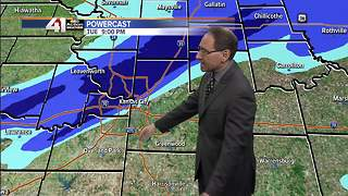 Jeff Penner Tuesday Afternoon Forecast Update - Video