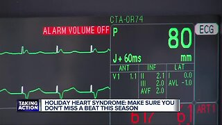 Holiday heart syndrome: Don't miss a beat this season