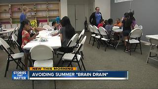 Helping kids avoid the summer 'brain drain' before they head back to school - Video