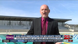 KHSD unveils new aquatic complex